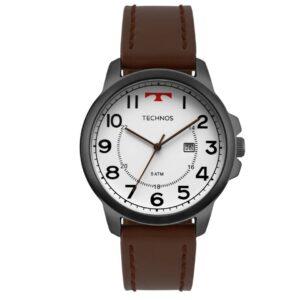 Relógio Technos Couro Marrom Masculino 2115MPB/2B