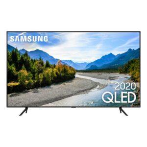"""Samsung Smart Tv Qled Q60t 4k 55"""" Borda Ultrafina Visual Livre De Cab"""