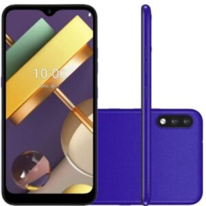 Smartphone Lg K22 Plus Azul Tela 6.2 4g Wi-fi Android 10 Câm Traseira