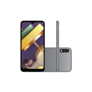 """Smartphone Lg K22 Plus Titânio 64gb Tela De 6.2"""" Câmera Traseira Dupl"""