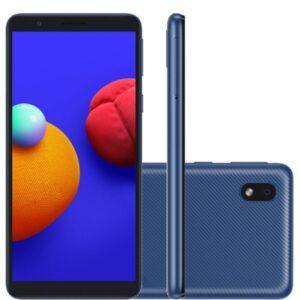 "Smartphone Samsung Galaxy A01 Core Tela Infinita De 5.3"" 2gb Ram 32gb"