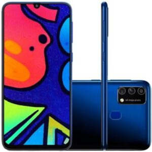Smartphone Samsung Galaxy M21s Camera Tripla 64mp Azul 64gb 4gb Ram