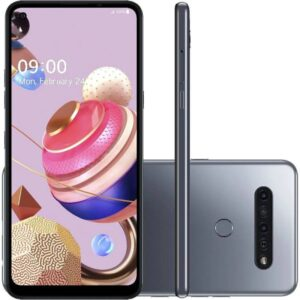 "Smartphone Lg K51s 6,5"" Octa Core Dual Chip 3gb Ram 64gb 32mp Tiânio"