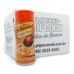 TEMPEROS P/ PIPOCA - SABOR FRANGO ASSADO 100g - Caixa c/ 12 Un - R$ 7,66 cada