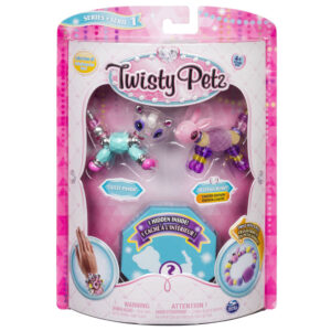 Twisty Petz - Surpresa Rara - Glitzy Panda e Fuffles Bunny - Sunny