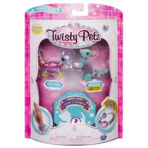 Twisty Petz - Surpresa Rara - Pixxie Mouse e Radiant Roo - Sunny