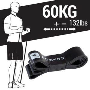 Super Band 60kg Elástico para Exercício Funcional e Alongamento - TRAINING BAND 60 KG COLO 1, NO SIZE