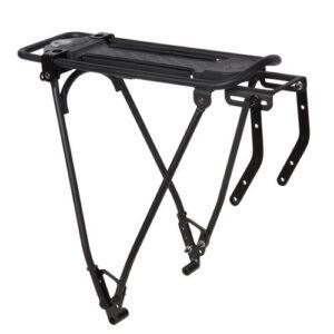 Porta-bagagem 500 OneSecondClip para bicicletas aro 26 e 28 Btwin - BIKE RACK 500 BCLIP DISC, .