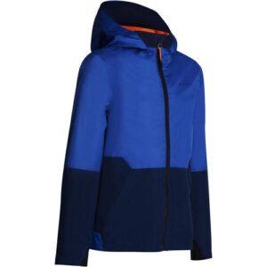Jaqueta infantil de trilha impermeável MH500