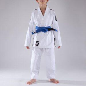 Kimono Infantil Jiu Jitsu Branco - Modelo First