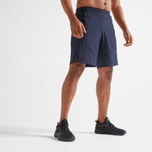 Bermuda Fitness Masculina FTS500 Cinza Azulado