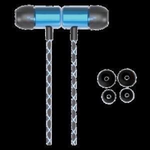 Fone de Ouvido Goldship com Microfone Magnetic Hits FO - 1401 Azul Fone de Ouvido Goldship com Microfone Magnetic Hits FO-1401 Azul