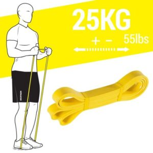 "Super Band 25kg Elástico para Exercício Funcional e Alongamento - ELÁSTICO ""TRAINING BAND"" - 25KG - 55LBS - CROSSTRAINING BY DECATHLON"