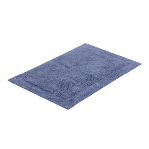 tapete buddemeyer antiderrapante 100% algodão allure azul 1659