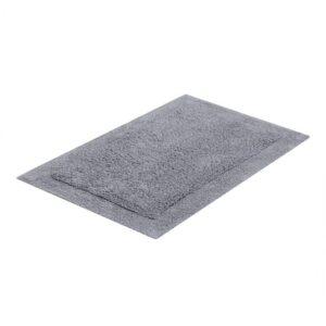 tapete buddemeyer antiderrapante 100% algodão allure cinza 1820