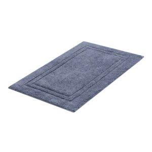 tapete buddemeyer antiderrapante 100% algodão elegance azul 1676
