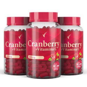 Cranberry + Vitamina C - 90 Dias - 180 Cápsulas
