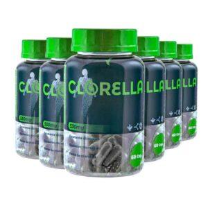 Clorella: Detox Corporal - 120 dias - 360 Cápsulas