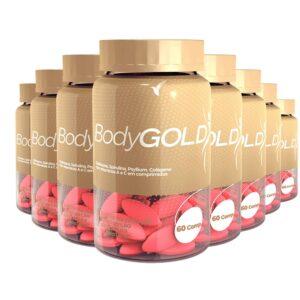 Body Gold: Emagrecer Rapido - 120 dias - 480 Cápsulas