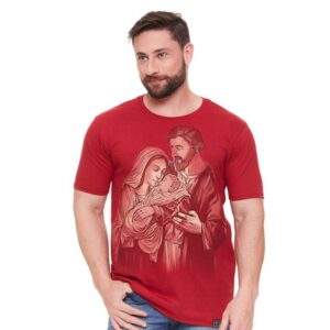 Camiseta Sagrada Família Natalina DV5005 M