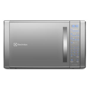 Micro-Ondas cor Prata com Painel Touch On Glass e Função Grill Electrolux (ME41X)