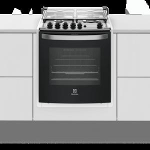 Fogão 4 Bocas de Embutir Electrolux Branco Automático com Grill e Tripla Chama (56EBT)
