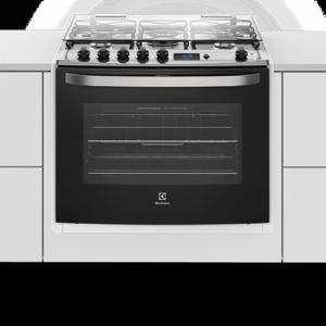 Fogão 5 Bocas de Embutir Electrolux Branco Automático com Grill e Tripla Chama (76EBR)