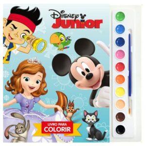 Livro Infantil - Disney Junior - Vol.1 - Coleção Aquarela - DCL Editora