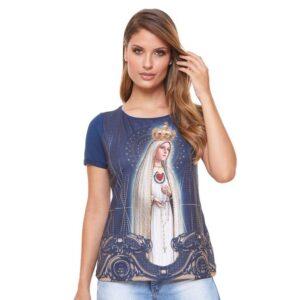 Blusa Nossa Senhora de Fátima FS4630 G