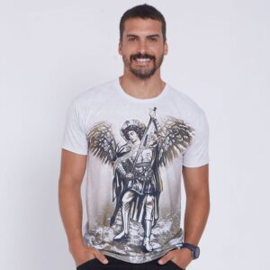 Camiseta São Miguel Arcanjo DVE4461 P