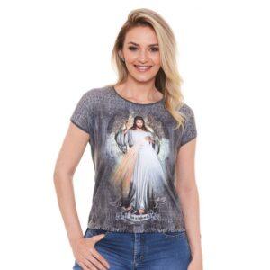 Blusa Jesus Misericordioso DV4677 P