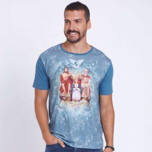 Camiseta Divino Pai Eterno DVE4414 Azul Indigoblue P