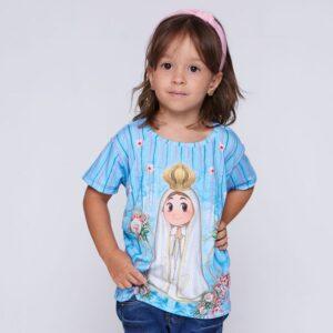 Camiseta Infantil Fatiminha AK4289 4