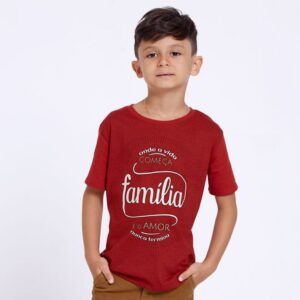 Camiseta Infantil Onde a vida Começa MS4075 4