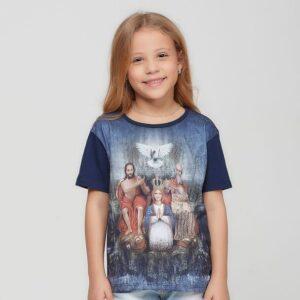 Camiseta Infantil Divino Pai Eterno DVE4098 4