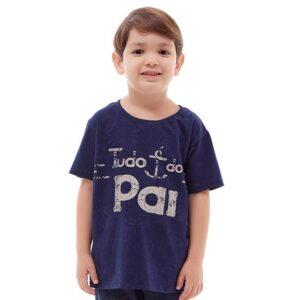 Camiseta Infantil Tudo é do Pai MS4069 4