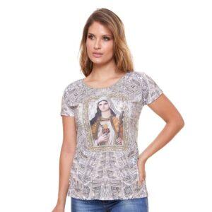 Blusa Imaculado Coração de Maria SBD4005 P
