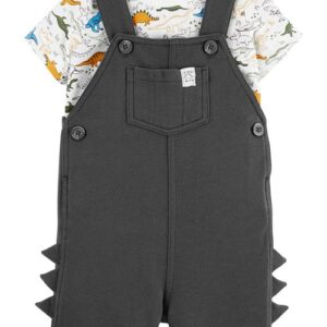 Conjunto de jardineira & camiseta de 2 peças 3M