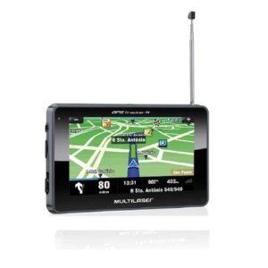 GPS Multilaser Tracker TV LCD 4,3 Pol. Touch FM Tts E-Book - GP034