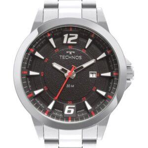 Relógio Masculino Technos  2117LCY1R Prata