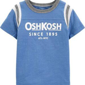 Camiseta com Logo OshKosh 6M