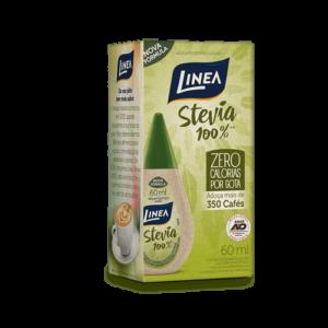 Linea Adoçante Líquido Stevia 100% 60Ml