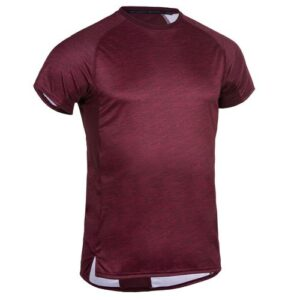 Camiseta Fitness Masculina FST120 Bordo