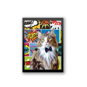 Quadro - Personalize Pet - Quadrinhos