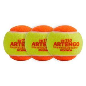 Bola de Tênis TB 110 Artengo- Ponto laranja (3 bolas) - TB 110 X3, NO SIZE