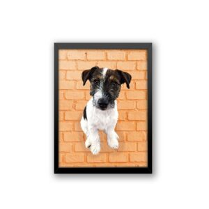 Quadro - Personalize Pet - Tijolinhos