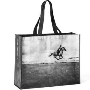 Bolsa Hipismo - Horse riding tote bag - b&w hor, no size