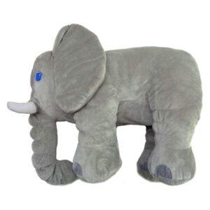 Almofada Infantil - Elefante - Cinza - Minimi
