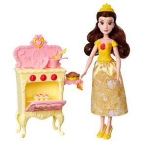 Boneca Princesa Disney - 30 Cm - Bela - Com Acessórios para Cenário - Hasbro