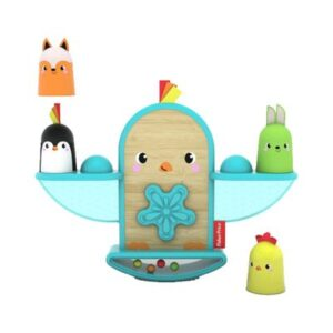 Brinquedo de Primeira Infância - Pintinho - Empilhando e Aprendendo - Fisher-Price